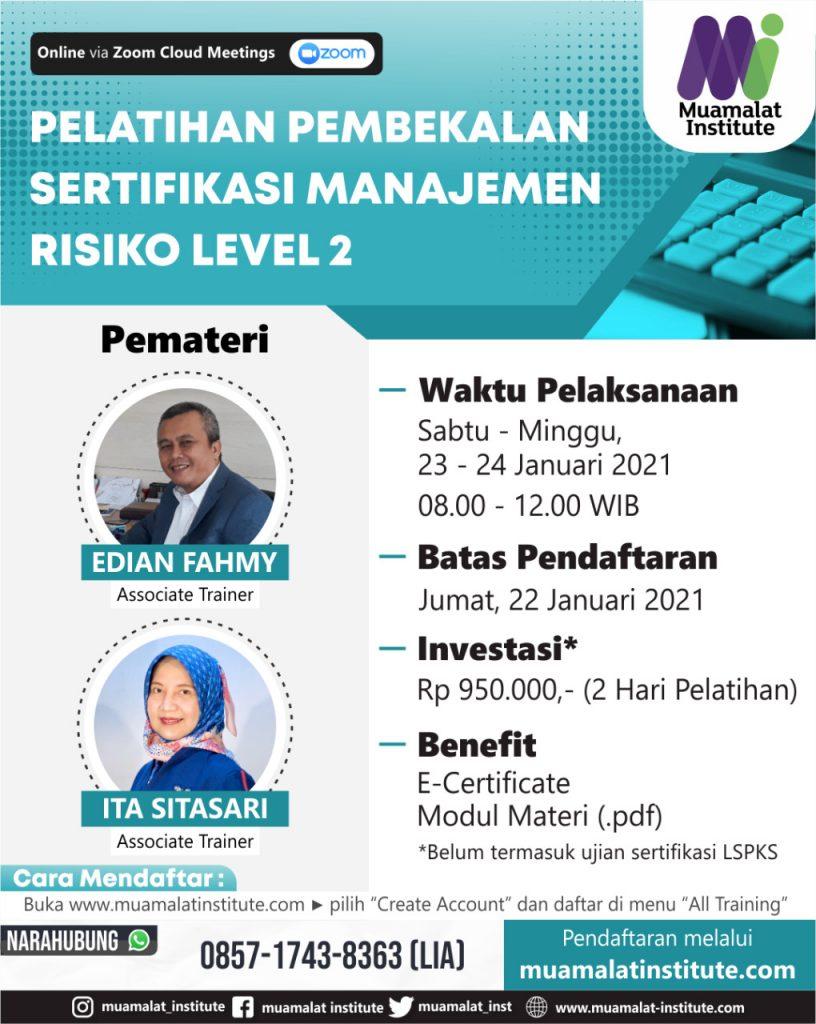 sertifikasi manajemen risiko